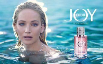 Jennifer Lawrence sensuelle dans la pub du parfum Joy de Dior