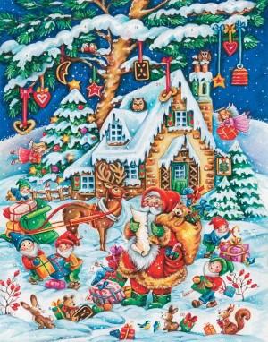 calendrier de l'avent du Père Noël
