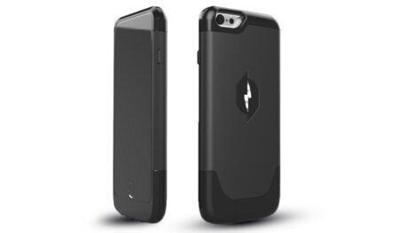 coque iPhone qui se recharge dans air