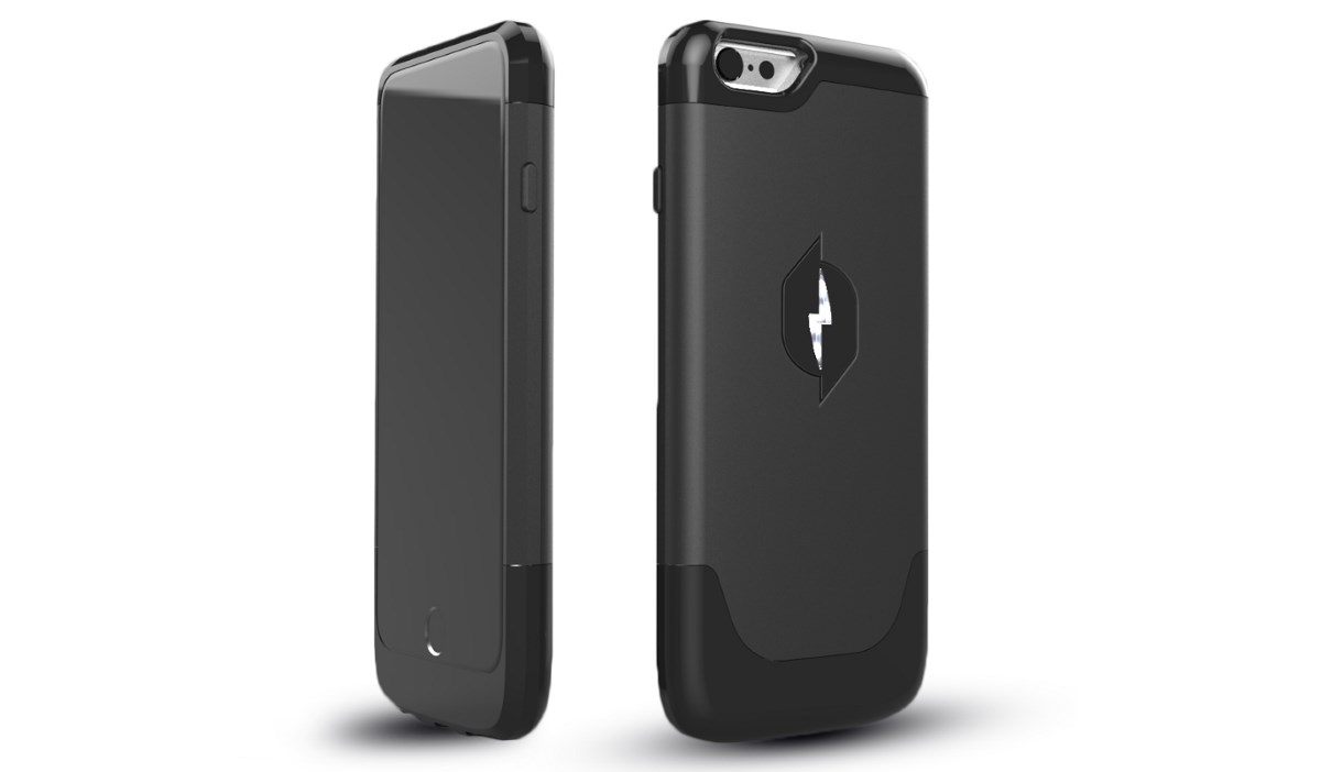 coque iPhone qui se recharge dans air