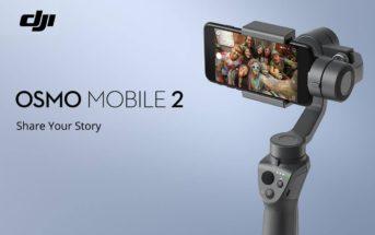 🔥 Code promo soldes : le stabilisateur DJI OSMO Mobile 2 à 100€