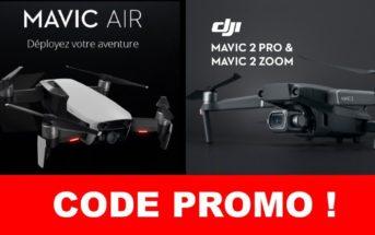 🔥 Drones DJI en réduction : tous les codes promo des soldes de janvier 2019