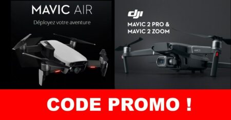 code promo sur les drones DJI