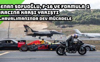 Vidéo : des supercars, une super moto, une formule 1 et un avion de chasse font la course !