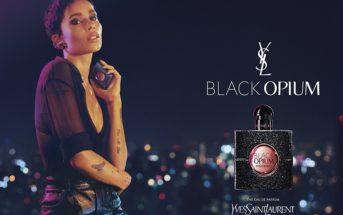 """Mannequin et musique de la pub Yves Saint Laurent """"Black Opium"""" 2018"""