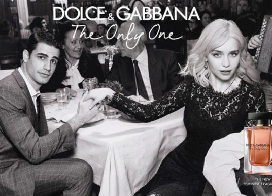 Emilia Clarke chante 'Quando' dans la pub Dolce & Gabbana The Only One