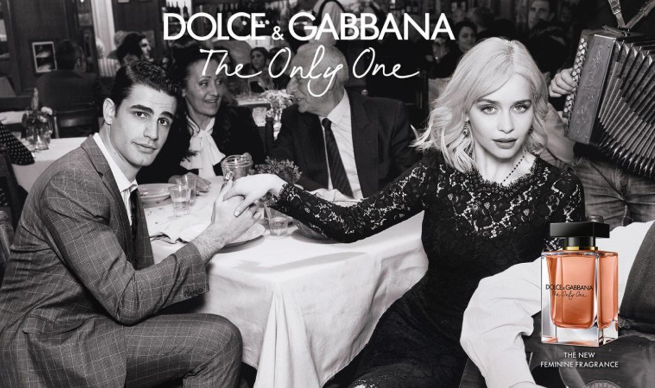 Pub Dolce Gabbana The Only One Emilia Clarke Chante Quando