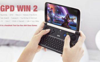 🔥 Soldes : le PC gamer de poche GPD WIN 2 à 588€