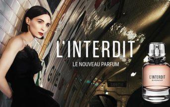 Actrice et musique de la pub du parfum Givenchy L'Interdit