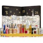 calendrier de l'avent beauté de l'Oréal Paris