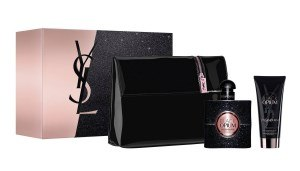 "coffret parfum Yves Saint Laurent ""Black Opium"""