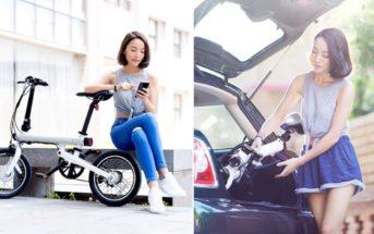 Promo : le vélo électrique pliable Xiaomi QiCycle TDR01Z à 679€