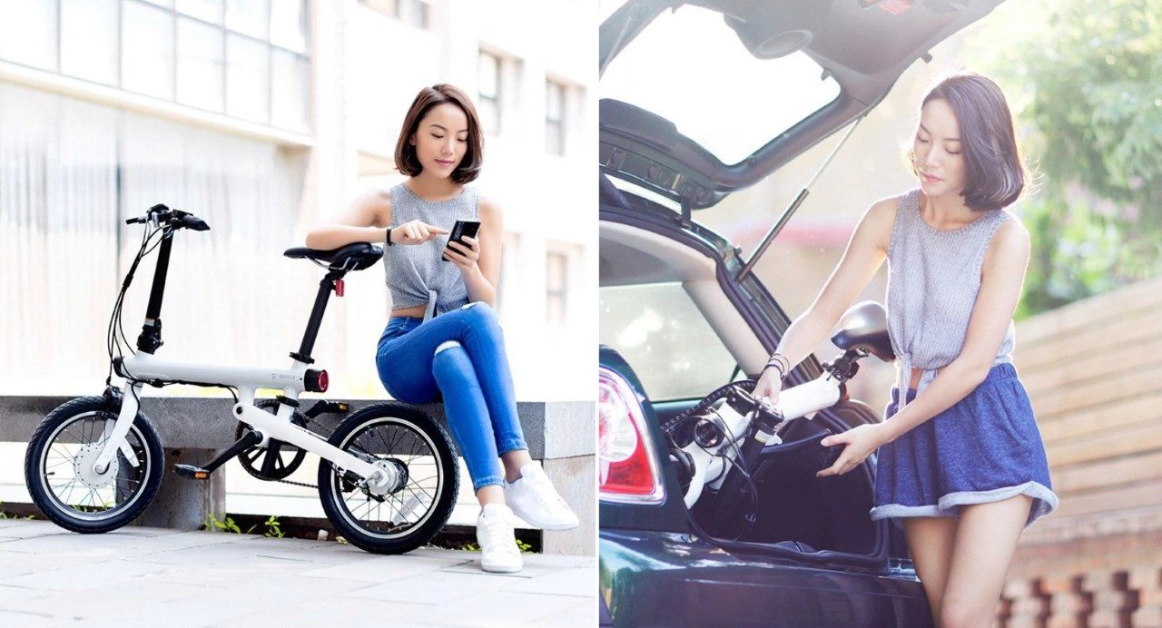 E-Bike Xiaomi QiCycle TDR01Z : vélo électrique pliable