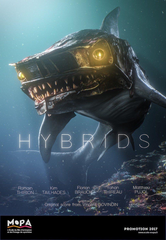hybrids : l'affiche du court-métrage