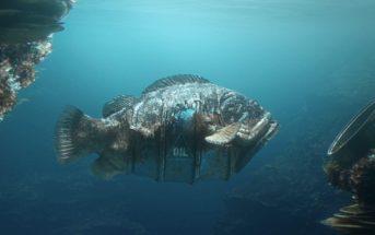 Hybrids : quand les poissons fusionnent avec des déchets humains