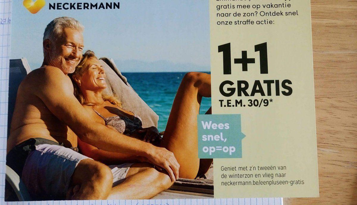 L'illusion d'optique sexuelle de la pub de l'agence de voyage Neckermann