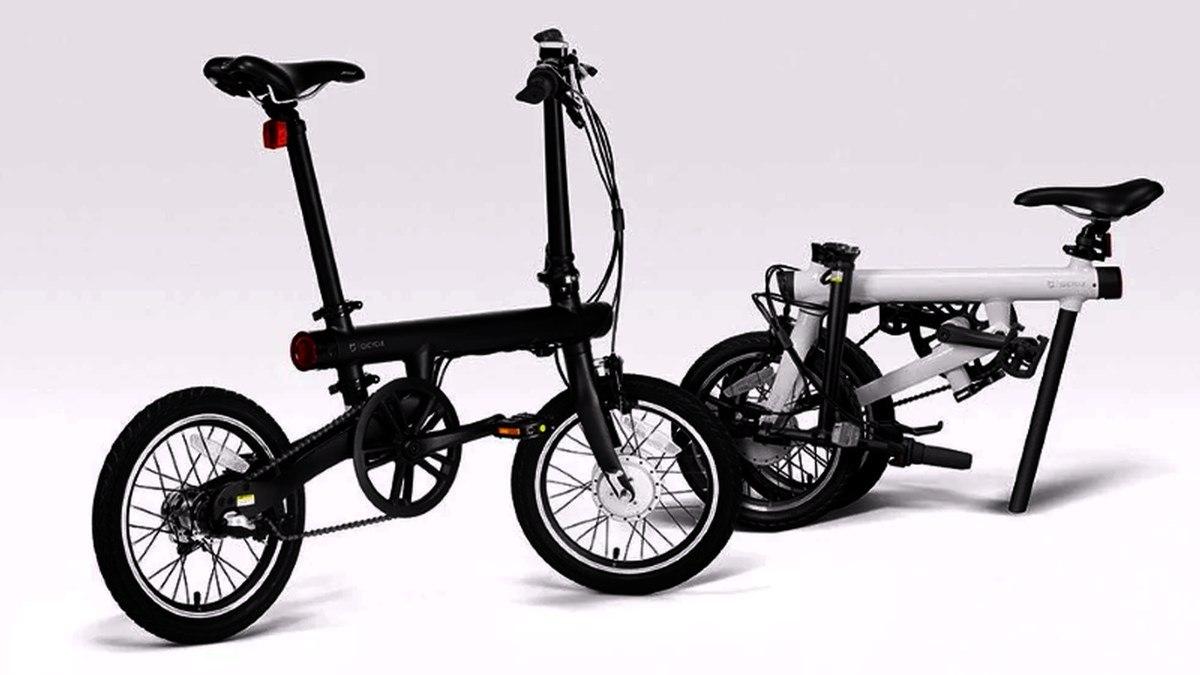 Le vélo électrique pliable Xiaomi QiCycle TDR01Z