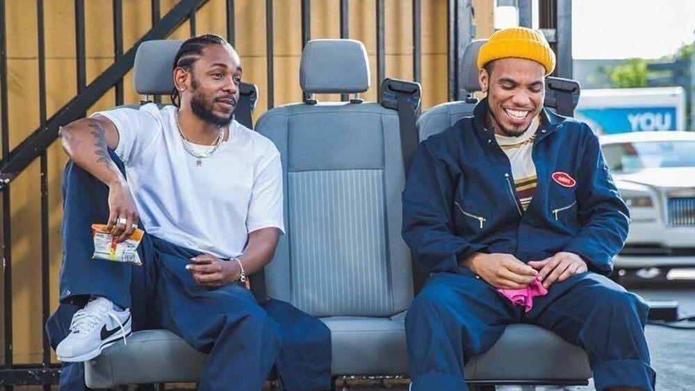Anderson .Paak et Kendrick Lamar dans le clip Tints