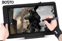 BOSTO 13HD : tablette graphique pour dessiner
