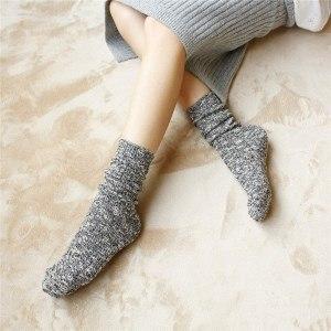 Chaussettes en Coton Vintage