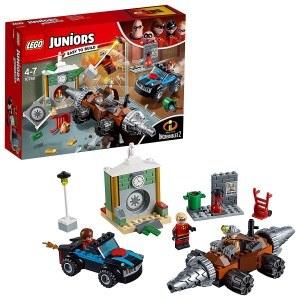 LEGO Juniors Les Indestructibles 2 - Le braquage d'une banque du Démolisseur