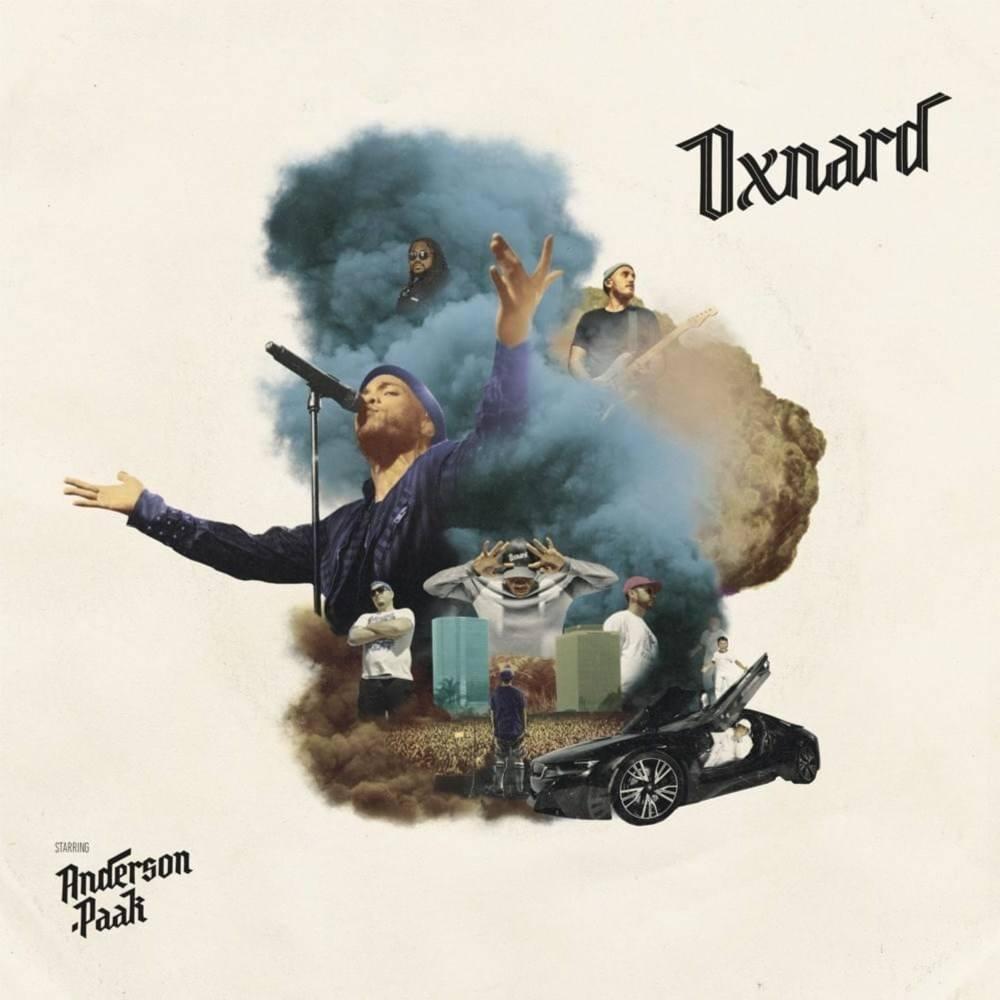 Oxnard : album de Anderson .Paak 2018 - cover - pochette