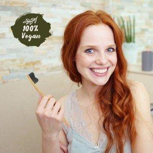 brosses à dent biodégradables en bambou