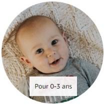 Cadeaux de Noël pour enfant (bébé) de 0 à 3 ans