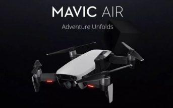 🔥 Code promo soldes : le drone DJI Mavic Air à 593€