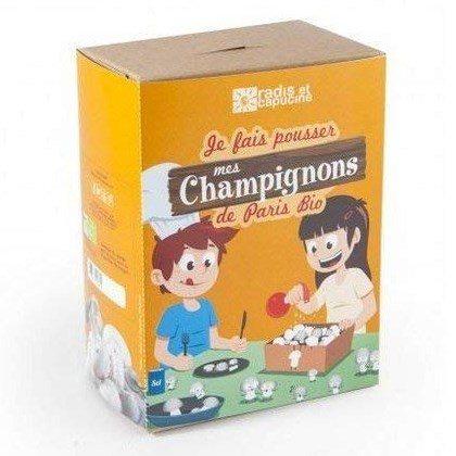 kit de culture de champignons de Paris pour enfants