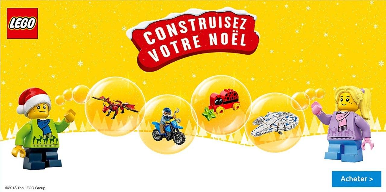 Promo jouets LEGO : construisez votre Noël