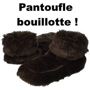 pantoufle bouillotte