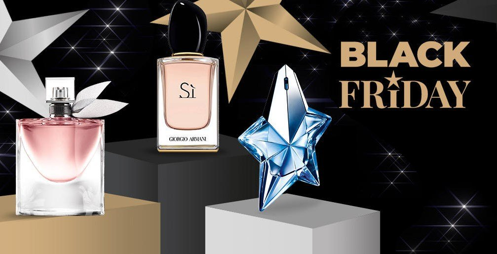promo black friday : -30% sur les coffrets parfum cadeau de Noël
