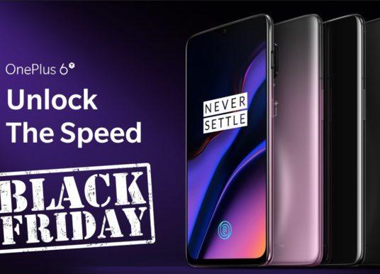 Black friday : le smartphone OnePlus 6T 8Go en promo à 512€ !