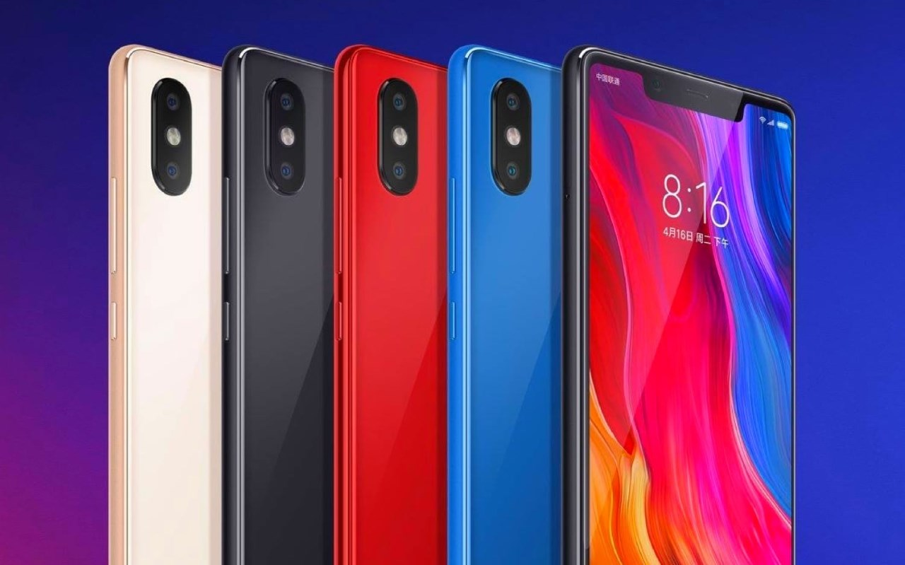 promo smartphone Xiaomi mi 8
