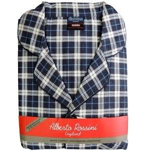pyjama pilou en flanelle classique
