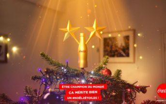 Noël 2 étoiles : un tweet inspire un nouveau produit Coca-Cola !