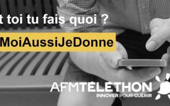 Le don par SMS pour le Téléthon, rien de plus simple ! #MoiAussiJeDonne