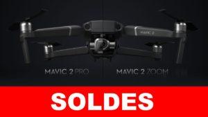 drone dji mavic 2 pro & zoom en soldes