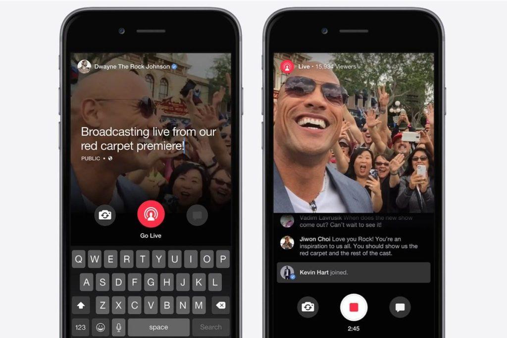 facebook live : la vidéo en direct