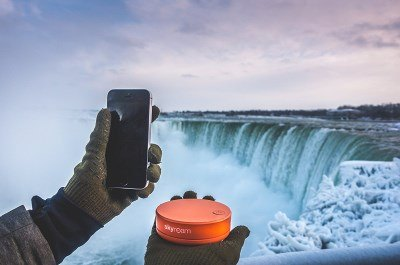 un hot spot wifi portable de voyage