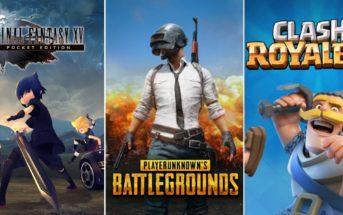 Top 5 des meilleurs jeux mobile de l'année 2018