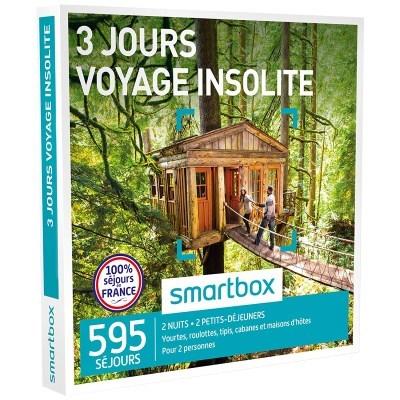 smartbox voyage insolite