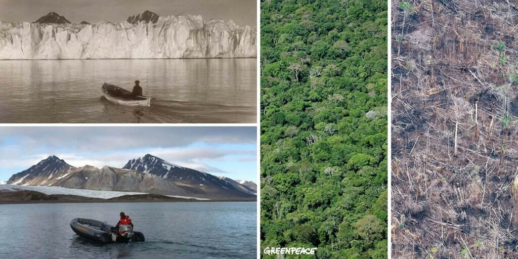 10 years challenge : le détournement écologique de Greenpeace