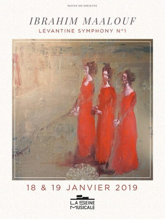 Ibrahim Maalouf : Levantine Symphony n°1 en concert les 18/19 janvier 2019 à la Seine Musicale