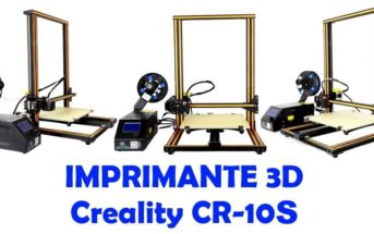 🔥 Code promo : l'imprimante 3D Creality CR-10 S en réduction à 360€