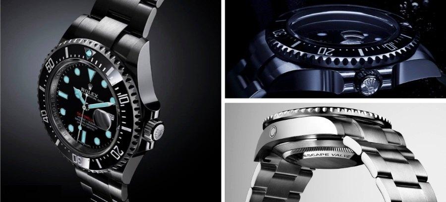 Rolex Sea-Dweller Deepsea : une montre de plongée en profondeur