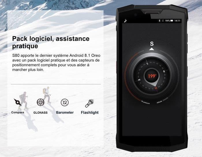 doogee s80 pack logiciel assistance