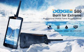 📱 Test et avis du Doogee S80, le smartphone talkie-walkie de l'extrême !