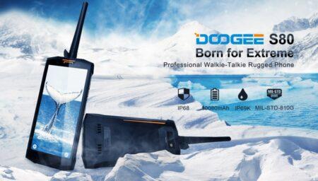 Doogee S80, le smartphone talkie-walkie de l'extrême